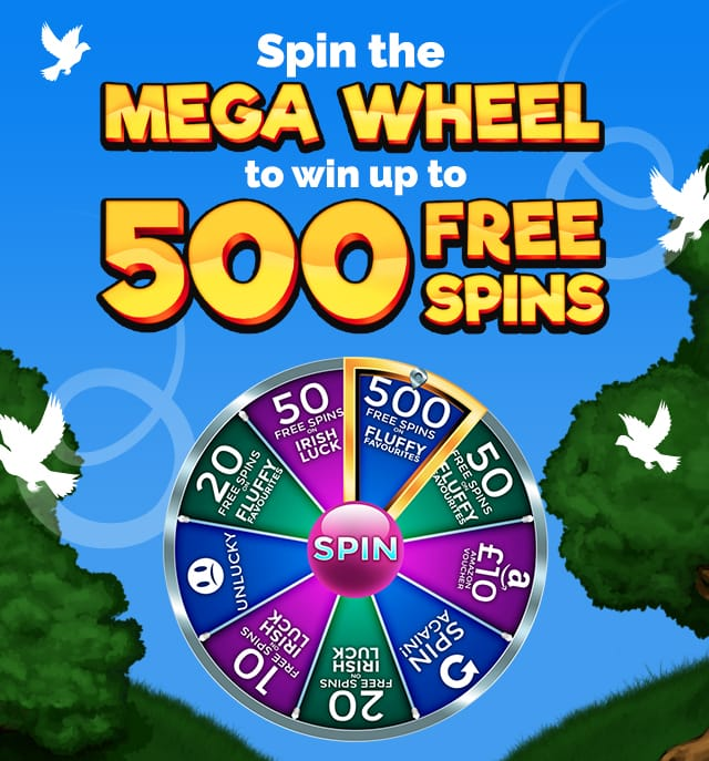 Dove Bingo | Spin the Mega Wheel To Win Up To 500 Free Spins